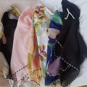 6 bundle beautiful scarf masks